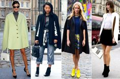 5 Ways To Rock A Cape | Visual Therapy  Giovanna Battaglia, Margaret Zhang, Poppy Delevigne, Anya Ziourova