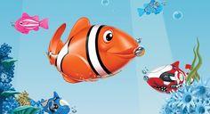 Dünyanın en teknolojik balığı... @kentmeydaniavm
