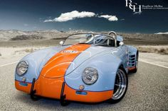 Way cool tribute to the Gulf - Wyer 917 endurance cars