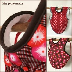 Le fameux sac japonais ... - Mes petites mains... Creations, Pouch, Japanese Knot Bag, Sewing Projects, Sewing, Hands, Tricot
