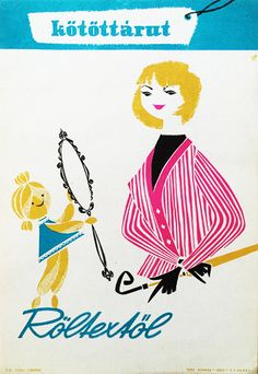 Buy Knitwear at Röltex / Kötöttárut a Röltextől 1960