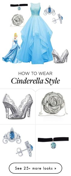 """Cinderella"" by diane-randle on Polyvore featuring Disney, Dolce&Gabbana, Judith Leiber and Child Of Wild"