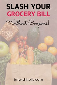 You can save big on groceries without clipping coupons! Here are 7 easy strategies to cut costs at the grocery store, without searching for coupons. Best Money Saving Tips, Make Money Blogging, Saving Money, Save Money On Groceries, Ways To Save Money, Grocery Coupons, Grocery Store, Low Budget Meals, Indoor Activities For Kids