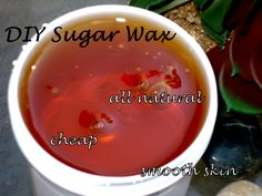 LADIES~~If you haven't tried sugar wax instead of shaving or the other expensive chemical wax treatments, then you're missing out!!! Sugaring is the best alternative in removing facial or body hair. It is ALL NATURAL & inexpensive! All you need is sugar, lemon, & water. This homemade product has been around for centuries from the middle east, & is gentle on even the most sensitive skin types. Click the picture to take you directly to a video link, or just YouTube for a tutorial on sugaring ♥