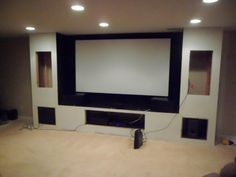 Convert Your Garage into a Man Cave - Man Cave Home Bar Home Theater Furniture, Home Theater Setup, Best Home Theater, At Home Movie Theater, Home Theater Speakers, Home Theater Rooms, Home Theater Design, Home Theater Projectors, Home Theater Seating