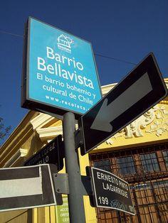 Bellavista - Santiago de Chile by TRESEME, via Flickr