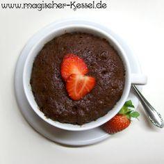 Schokoladenkuchen aus der Mikrowelle? Schnell, einfach, simpel, essbar. ;-)