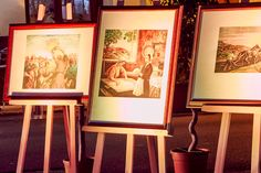 #Gianbecchina works at the #exhibition of Raffaello Centro d'Arte #Sicily #arts #paintings