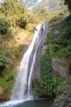 Canyoning in Jalberi, Nepal www.grgadventurekayaking.com