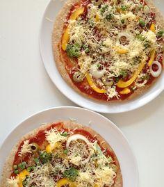 Healthy Comfort Food: (Spelt)pizza's
