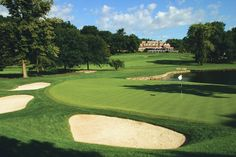 BALTUSROL G.C. (Lower)	 A.W. Tillinghast	1922	Springfield	NJ	Round with Jimmy and Andy.