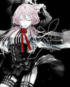 Yuzuriha Inori, Black Background