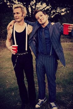 GreenDay just wouldn't be GreenDay without Mike and Tre. Love you guys!
