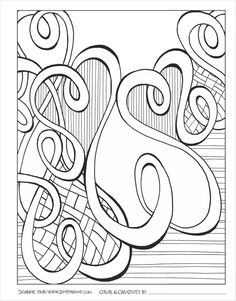 Download This Page From The Zenspirations Create Color Pattern Play Abstract Geometric
