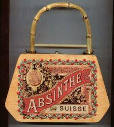 Absinthe Suisse Cigar Box Purse