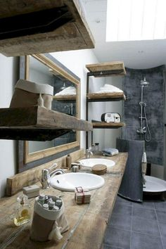 60+ Rustic and Modern Bathroom Remodel Inpirations