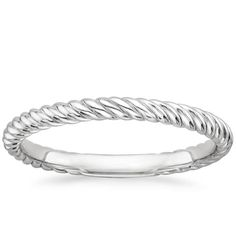 Platinum Entwined Ring from Brilliant Earth