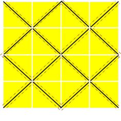 This is a detailed Tutorial on how to make 32 Half Square Triangles at once … Continue reading →