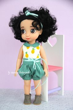 Doll overall for Disney animator dolls