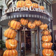 "cutetravels: "" Universal Studios Japan is Halloween paradise in October! Wacky Holidays, Universal Studios Japan, Shop Fronts, Samhain, Paradise, October, Shops, Autumn, Halloween"