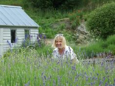 Shane Manners Wood with some of her crop  at Ben Lomond Lavender, which is likely to end up in numerous tourist and wedding photos. Photo by...