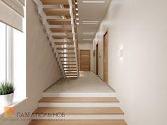Фото: Холл - Интерьер дома в современном стиле, коттеджный поселок «Небо», 272 кв.м.