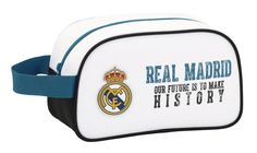 Real Madrid History - Toilettas - 26 cm - Wit  #premierleague #voetbalkids #laliga #cadeau #voetbal