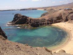Playas del Papagayo, Lanzarote, Canarias, Spain