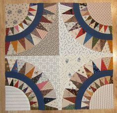 Piece By Piece: Making Progress on the New York Beauty Quilt