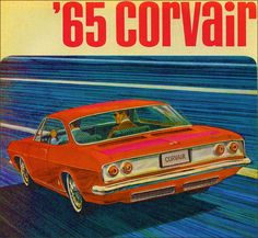 Chevrolet Corvair 1965. Dad owned several