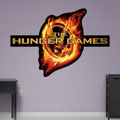 The Hunger Games Logo ($90) ❤ liked on Polyvore