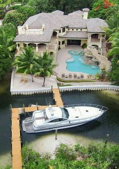 I bet backing that yacht in is a bitch, lol