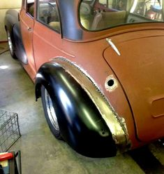 Mini Guy now happy Minor Owner - Page 7 - Morris Minor Owners Diesel Rat Rod, Wheel Flares, Custom Metal Fabrication, Ford Anglia, Metal Shaping, Wide Body Kits, Morris Minor, Mini Clubman, Car Mods