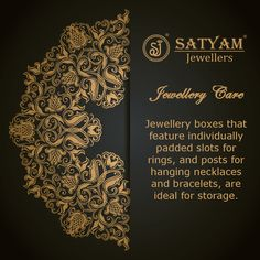 #CareTip Care tip brought to you by the House of Satyam Jewellers  #SatyamJewellers #JewelleryCare #Pune अनुवाद देखें