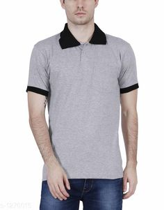Tshirts Elegant Men's Solid Cotton Tshirt Fabric: Cotton Sleeves: Short Sleeves Are Included Size: SM L XL XXL ( Refer Size Chart ) Length- Refer Size Chart Type: Stitched Description: It Has 1 Pieces Of Men's T- Shirt's  Pattern: Solid Country of Origin: India Sizes Available: XS, S, M, L, XL, XXL   Catalog Rating: ★4 (389)  Catalog Name: Everyday Elegant Mens Solid Cotton Tshirts Vol 3 CatalogID_161229 C70-SC1205 Code: 063-1270015-0801