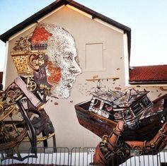 Pixel Pancho – Street Art, Robots and Pop Culture…