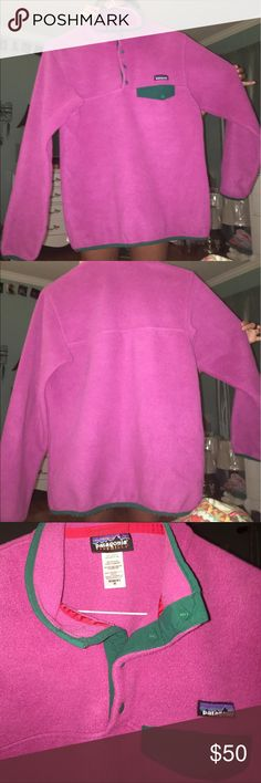 Patagonia Synchilla Pullover excellent condition!! few fuzzies on the bottom band as seen in fourth pic Patagonia Jackets & Coats
