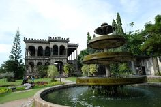 The fountain used to be surrounded by lilies, which were tended to by a Japanese gardener. When the war broke out in Negros, the gardener disappeared. Later, the family discovered that he was a spy. Photo courtesy of SEDA