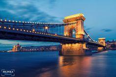 Budapest Bridge by Zsolt Hlinka on Budapest Hungary, Journey, Tower Bridge, Golden Gate Bridge, Prague, Interior Architecture, My Photos, Bridges, Travel