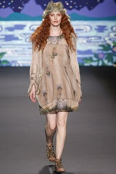 Anna Sui Spring Summer 2014 The Mists of Avalon