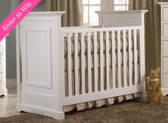 This is exactly the profile and design of the cribs I want! Perfect for our boy/girl twins!