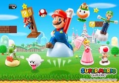 McDonald's receberá novos brindes do Mario ainda essa semana lá no Japão - A Casa do Cogumelo