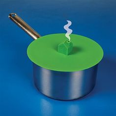 We all know that the quickest way to bring water to a boil is to put a lid on the pot, but how can you tell when it starts to boil? Just wait until smoke starts com ing out of the chimney!
