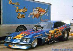 Vintage Drag Racing - Jungle Jim 1977 Monza