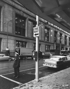 A White Hat, Traffic Enforcement! My Kind Of Town, My Town, Chicago Area, Chicago Illinois, Past, Street View, History, City, Places