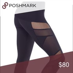 ⚡️⏱24 hour sale⏱⚡️ Sexy Mesh Electric Yoga Pants My favorite black yoga pants by Electric Yoga. Bundle and save or ask me to create a workout bundle in your size!  Thanks for checking out my closet! Bundle and save!! Electric Yoga Pants Leggings