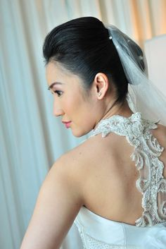 Camille Garcia Beaded Wedding Dress Big Day, One Shoulder Wedding Dress, Backless, Gowns, Couture, Bride, Wedding Dresses, Beautiful, Fashion
