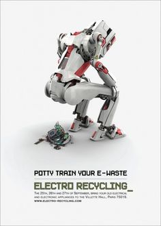 Electro recycling advertisement  Doesn't take itself too seriously. Good stuff.