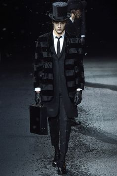 Thom Browne Fall 2015 Menswear Collection Photos - Vogue