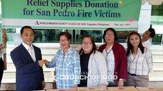Donation for San Pedro Fire Victims, Pagadian  Awesome!